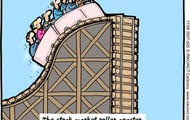 The Stock Market Roller Coaster.