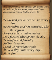 Our Classroom Constitution