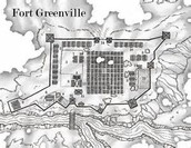 Diagram of Fort Greenville