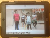displaying a story through dance