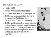 more about charles drew