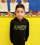 Jeremiah Ochoa - 1st Grade