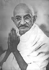 The intro of Ghandi