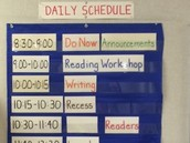 Intentional Use of Time- Class Schedules