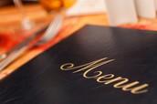 menú- menu