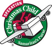 VCA November/December's Community Service:  Operation Christmas Child