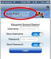 Teacher Vue