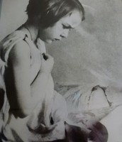 Young Flannery Reading