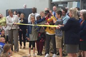 PWMS Celebrates the First Day of School with a Ribbon Cutting Event
