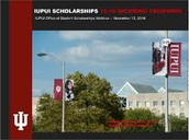 IUPUI Academic Scholarships