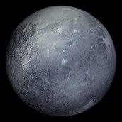 Pluto is covered in ice