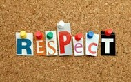 Respect others!