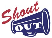 Shout Outs!