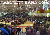 All-City Band Concert:  April 5th!