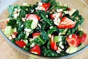 Strawberry & Kale salad