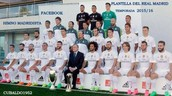 The team of Real Madrid for the match
