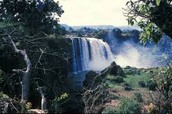 Blue Nile fall