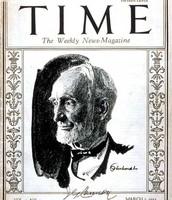 TIME for the first issue of TIME