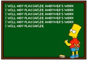 Never Plagiarize