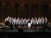 SBMS Men's Choir wins Sweepstakes