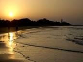 BIBIONE: tramonto