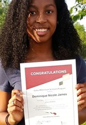 Congratulations Bryan Adams Senior Dominique James!