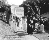 Women`s suffrage movement