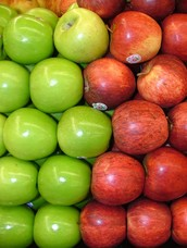 Apples( granny smiths, rome)