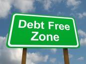 Debt free zone here in Georgia