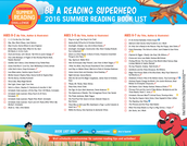 Scholastic's 2016 Book Suggestions