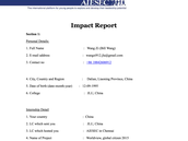 Impact report 3