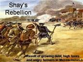 Shays Rebillion