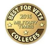 "Ashford Named ""Best for Vets: Colleges 2016"""
