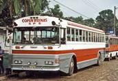 Autobus de Honduras