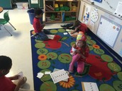 We played Go Fish place value!