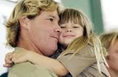 Steve and his daughter, Bindi