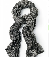 Painted Zebra a Huge Scarf/Cover Up reg 59- Sale $30.00