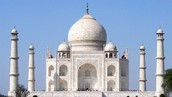 The Taj Mahal is a beauty! Take a look at the white marble and amazing structure. You would want to visit this place if you knew more about it.
