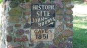 Historic site John Brown's cave 1851