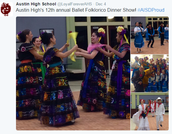 Folklorico entertains
