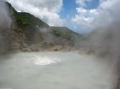 The boiling lake