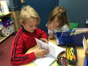 reading with partners, too!