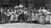 Some kids that worked in the factory