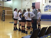 Volleyball Sweeps Seward and ACS