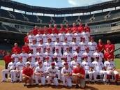 The entire Texas Rangers team