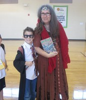 Harry Potter & Professor Trelawney