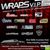 W.R.A.P.S VIP Event
