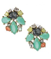 Naomi cluster earrings- original $44, sale $28