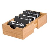 THE INDEX CARD HOLDER HAS LONG BEEN THE BOX OF CHOICE FOR RESTAURANTS AND OTHER LOCATIONS