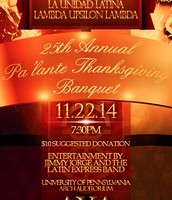 25th Annual Pa'Lante Banquet